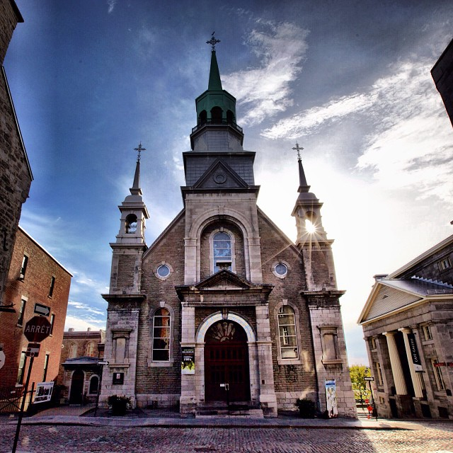 Notre Dame de Bon Secours (Our Lady of Good Help) in Old Montréal, Québec, built in 1771. I have recently started the Mémère Project - @memereproject - an initiative to explore #French #Canadian roots in America. My #grandmother, Claudia Breton Émond, was one of nearly one million Québécois who emigrated to the United States between the 1840s and 1930s in search of the American Dream. It is a cultural #heritage that's widely unknown in this country. I'd like to change that.  #quebec #quebecois #francoamerican #jemesouviens #canada #memere #memereproject #montreal #quebeccity